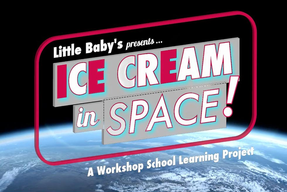 Beyond the Sky's Limit: Ice Cream in Space